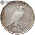 USA, Dolar, 1922 rok, Peace, st. 3+
