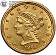 USA, 2,5 dolara 1961, Liberty, złoto