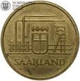 Niemcy, Saarland, 50 franków, 1954 rok, st. 3+