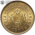 Hongkong, 50 centów 1979, st. 1/1-, #28