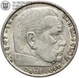 Niemcy, 2 marki 1939 B, Hindenburg, st. 3+, #G5