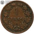 Austria, 1 krajcar, 1859, A, st. 3+, #88