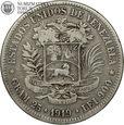 Wenezuela, 5 bolivares, 1919 rok, #V1