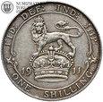 Anglia, 1 szyling 1991, st. 3+, #P1