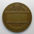 Medal 100 lat Banku Polskiego 1928r. - autor J. Aumiller.