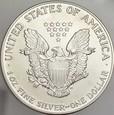 276. USA, Dolar 1990, Statua, st 1, uncja srebra
