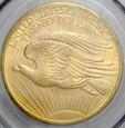 USA, 20 dolarów 1908, Statua, PCGS MS64