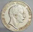 128. Niemcy, 5 marek 1907, Prusy, st 3+