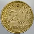 419. Estonia, 20 senti 1935, st 3