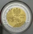 III RP, 10 złotych 2009, Gajcy, st L