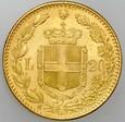 B89. Włochy, 20 lirów 1882, Umberto, st 1