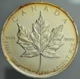 A248 Kanada, 5 dollarów 2011 uncja srebro