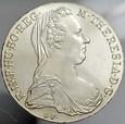 A27. Austria, Talar 1780, Maria Teresa, NOWE BICIE