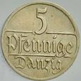 149. WMG, 5 Fenigów 1928, st 2