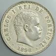 122. Portugalia, 500 reisów 1896, Karol I, st 2-