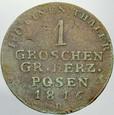434. Wielkie Księstwo Poznanskie, Grosz 1816 B