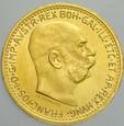 456. Austria, 10 koron 1912, Franz Josef, st 1 NB
