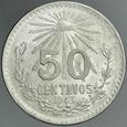 438. Meksyk, 50 centavos 1943, st 1-