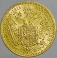 Austria, Dukat 1915, Franz Josef, NB