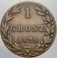 433. Królestwo Polskie, Groszy 1839 MW, st 3