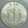 A132. Słowacja, 20 koron 1941, Cyryl i Metody, st 2-1