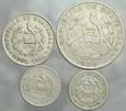 A34. Gwatemala, Zestaw 5 monet