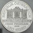 A248. Austria, 1,5 euro 2009, uncja srebra, st 1