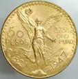 34. Meksyk, 50 pesos 1947, Anioł, st 1-