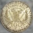 A152. Francja, 100 franków 1984, Curie Skłodowska, st 2+