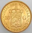 B19. Holandia, 10 guldenów 1925, Wilhelmina, st 1