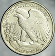428. USA. 1/2 dolara 1942, Liberty, st 1