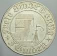 499. WMG, 5 Guldenów 1932, st 3++