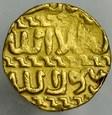 A142. Islam, Dinar, Mamelucy, Barsabay 825-841 AH, st 3+