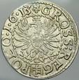 424. Grosz korony 1613, Zyg III, st -2