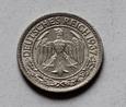 Niemcy Deutsche Reich 50 Fenigów 1927 A