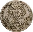 AUSTRIA 20 KRAJCARÓW 1780 G I.B I.V JÓZEF II