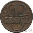POLSKA - II RP - GROSZ - 1939 - Stan: 3