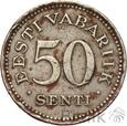 ESTONIA - 50 SENTI - 1936 - st. 3