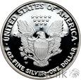 USA - 1 DOLLAR - 2007 - LIBERTY - Uncja Ag999 - st. L