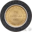 FINLANDIA - 20 MARKKAA - 1912 s - Stan: 1/1-