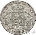BELGIA - 5 FRANKÓW - 1873 - LEOPOLD II - st. 3
