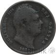 WIELKA BRYTANIA - FARTHING - 1835 - WILLIAM IV - Stan: 4