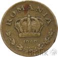 RUMUNIA - 1 LEU - 1940 - Stan: 3