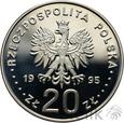 "POLSKA - 20 ZŁ - 1995 - KOPERNIK ""ECU""  - STAN: L"