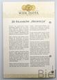 SZWAJCARIA - 20 FRANKÓW - 1894 - Stan: 1-