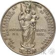 NIEMCY - BAWARIA - 2 GULDENY - 1855 - MAKSYMILIAN II - st. 3