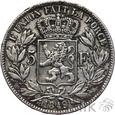 BELGIA - 5 FRANKÓW - 1849 - LEOPOLD - st. 3-