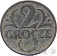POLSKA - II RP - 2 GROSZE - 1934 - Stan: 3-