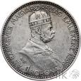 WĘGRY - KORONA - 1896 - FRANCISZEK JÓZEF I - Stan: 3