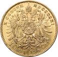 Austria, 10 Koron 1911 r.
